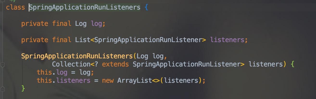 SpringApplicationRunListeners